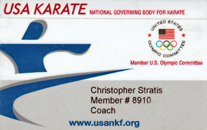 USA Karate Certified Coach Level 2