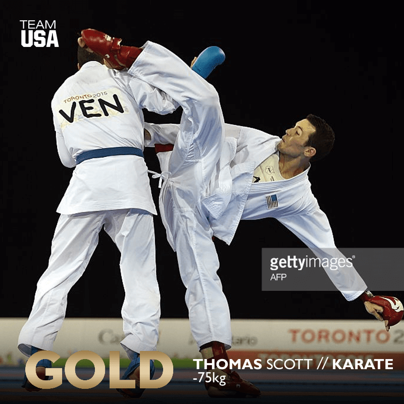 Tom Scott wins gold at the Pan American Games