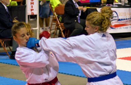 B. Feith, Athlete, USA Karate National Team