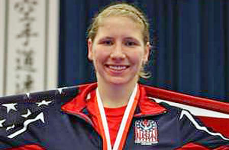 S. Konrad, Athlete, USA Karate National Team