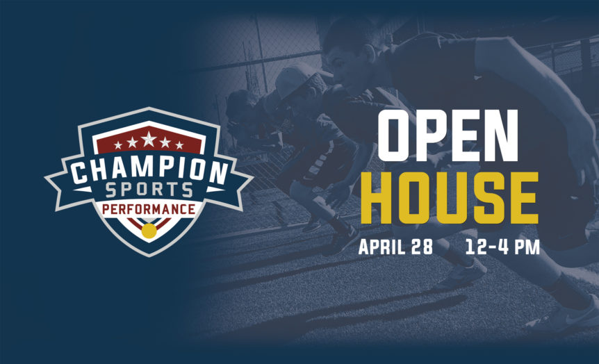 Champion Sports Performance Open House